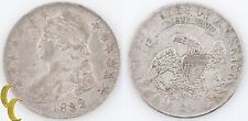 1832 Capped Bust Half Dollar (Extra Fine, XF) Silver 50c 1/2 $ EF KM-37