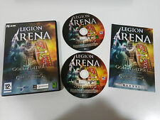 LEGION ARENA GOLD EDITION + CULT OF MITHRAS EXPANSION SET PC 2X CD-ROM SPANISH