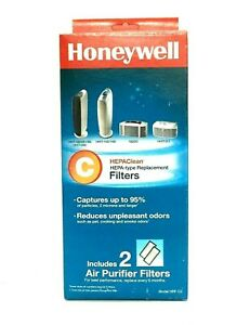 Honeywell Filter C HEPAClean Replacement Filters 2 Pack HRF-C2