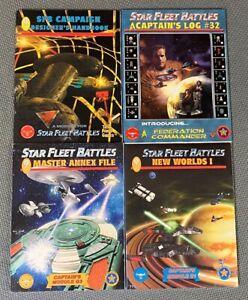 Star Fleet Battles Sci-Fi  RPG Lot