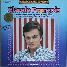 CLAUDE FRANCOIS DISQUE D'OR  33T LP