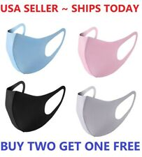 Face Mask Reusable Washable Covering Masks Clothing Men Women Protective Unisex