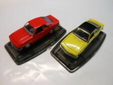 2 RARE OPEL MANTA A Models by Pilen or Artec in 1:43 with Original Box