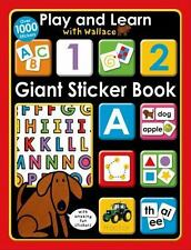 Play and Learn with Wallace: Giant Sticker Book [With Sticker(s)] (Mixed Media P