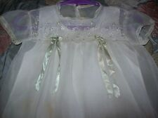 Vintage 1950/60s beautiful Nylon Dress and Slip for your Big Baby Doll