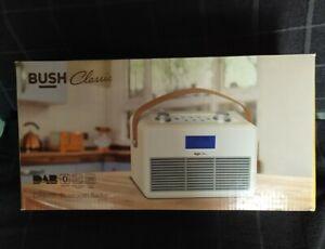 Bush Classic DAB Bluetooth FM Radio Cream Digital Display Retro