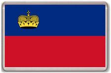 LIECHTENSTEIN FLAG FRIDGE MAGNET SOUVENIR IMAN NEVERA