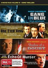 Crime 4 Movies Gang In Blue / One Eyed King / Shadow Of A Doubt / Echo Of Murder