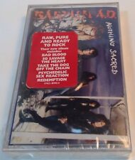 BABYLON A.D. Tape Cassette NOTHING SACRED 1992 Arista Records USA  07822-18702-4