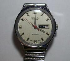 For SPARES: Rare INGERSOLL Men`s 21 jewels Automatic Vintage Watch Swiss made –