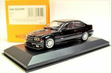 1:43 MAXICHAMPS 1992 BMW M3 (E36) coupe black NEW DIECAST MODEL !!!