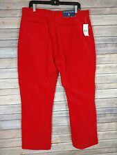 Men's NEW Polo Ralph Lauren Orange Corduroy Pants Size 38x30 NWT