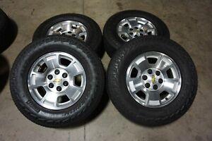 "17"" Chevy Silverado 1500 Factory OEM Wheels Rims Tires Tahoe Suburban 5299"
