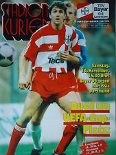 Programm 1991/92 Bayer 04 Leverkusen - Borussia Dortmund