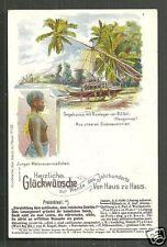 Bili Bili island Girl Madang German Papua New Guinea ca 1899
