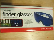 Park Avenue Golf Ball Finder Glasses with Zipped Carrying Case