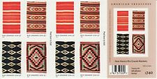 NAVAJO BLANKET STAMP BOOKLET -- USA #3929B 37 CENT NATIVE AMERICAN INDIANS
