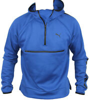 New Puma Mens Evo Core Savannah Hooded Jacket in True Blue Colour Size M