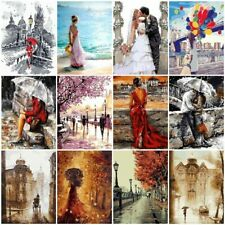 Romantic Painting By Numbers Kit Includes Paints Brush Board Canvas DIY Wall Art