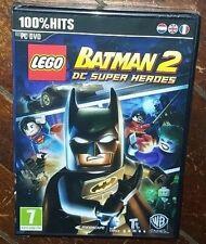 LEGO Batman 2: DC Superheroes (PC DVD, 2012, WB) Free Shipping!