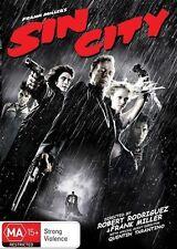 Sin City Dvd Top 250 Movies Crime Thriller Bruce Willis Brand New R4