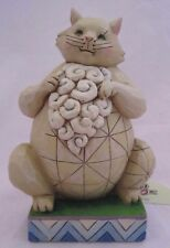 """Jim Shore """"Large. And in Charge"""" Cat Figurine New Mint Heartwood Creek New"""