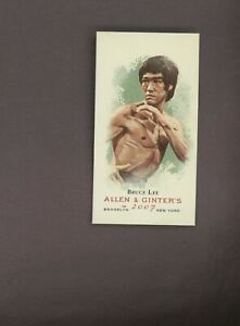 2007 Topps Allen & Ginter Mini Mainland Edition BRUCE LEE 21/25 SP