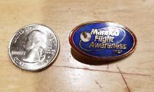 NASA pin Manned Flight Awareness (Free shipping on 3 or more)