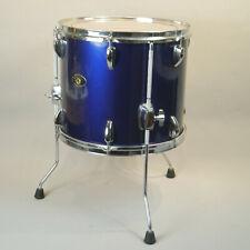 "Tama Stagestar Floor Tom Drum 14"" Blue good condition 12""x14"""