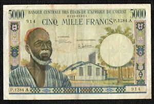 5000F West African States - High Grade - NO RESERVE