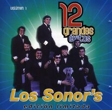 Vol. 1-12 Grandes Exitos - Los Sonor's (2007, CD NIEUW) CD-R