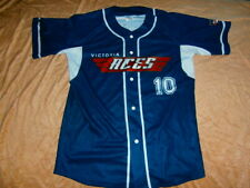 ABL MELBOURNE ACES AUSTRALIAN Baseball LEAGUE JERSEY TRAINING VIVA RARE MENS XL