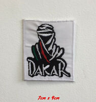 Dakar Rally Sports Art Badge Iron or Sew on Embroidered Patch