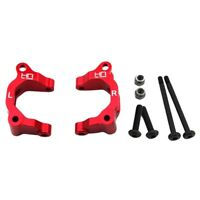 Hot Racing ARM1902 Arrma Granite Mojave Red Aluminum Big Bearing Front Uprights