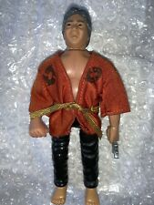 Remco 1986 Karate Kid Sato Action Figure
