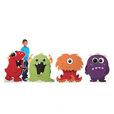 Monsters Standee Set photo prop set of 4 CARDBOARD CUT OUT