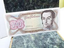 BANCO CENTRAL DE VENEZUELA: CIEN (100) BOLIVARES BILL (1992) a6