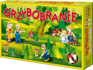 GRZYBOBRANIE -GRA PLANSZOWA OD ADAMIGO - GRZYBKI od reki polska gra