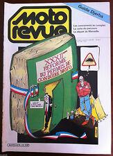 MOTO REVUE 10/1984; Guide Djerba/ Réforme du permis de conduire moto