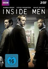 3 DVDs *  INSIDE MEN - Steven Mackintosh, Warren Brown  # NEU OVP &
