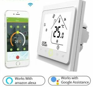 WiFi Smart Thermostat Temperature Controller For Electric Heating Water Gas Type