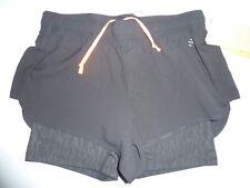 Black Running Shorts Size 8 NWT