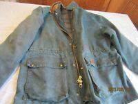 Vintage Carhartt Green Fade Blanket Lined Chore Work Barn Jacket Coat Men's 2XL