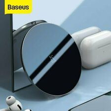 Baseus 15W Qi Wireless Charging Fast Charger Pad for iPhone 11 X Samsung S20 S10