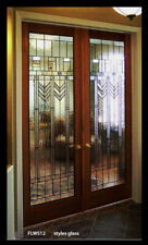 Beautiful Stained Glass designer Door ( Praire / Misson )