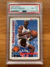 1992-93 NBA Hoops MICHAEL JORDAN Chicago Bulls ALL-STAR #298! PSA 8.5 NM-MT+ UNC