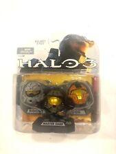 Microsoft Xbox Halo Helmet 3-Pack Master Chief Rogue CBQ - BRAND NEW! SEALED!