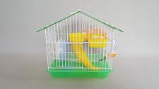 TRANSPORTER una gabbia da Criceti Topi Mouse Ciotola RUOTA Bottiglia D'acqua Roditori Criceto Casa
