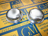 1934-1956 Buick Oldsmobile Pontiac Front Wheel Grease Hub Caps (2)