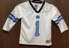 Nike White North Carolina Tar Heels #1 Football Jersey 2 Toddler